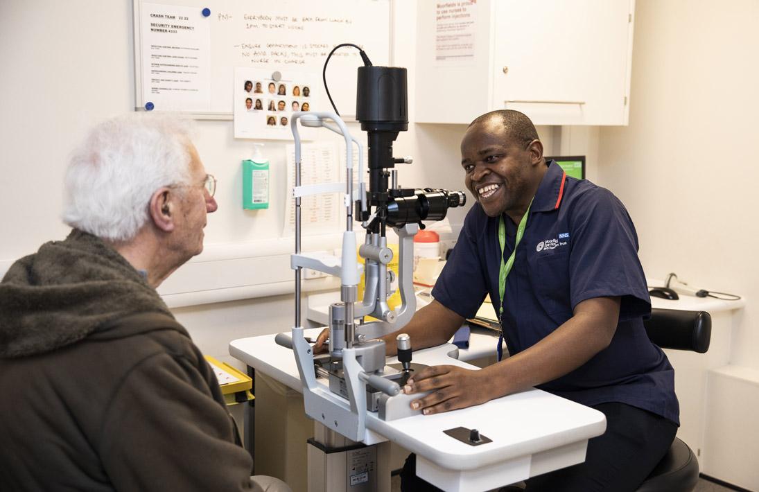 Nurse-led Intravitreal Injection Service