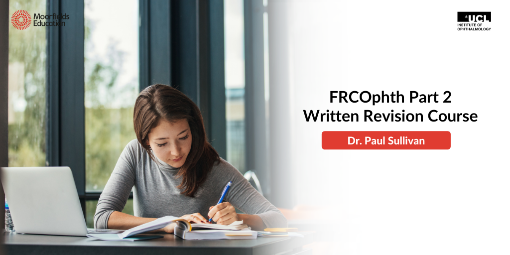 FRCOpth Part 2, Written Revision course